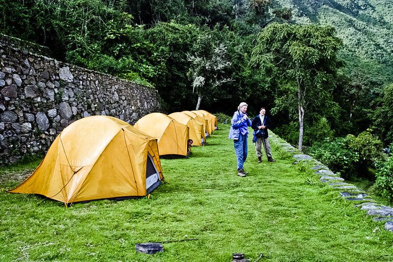 Camping en Choquequirao - Cusco