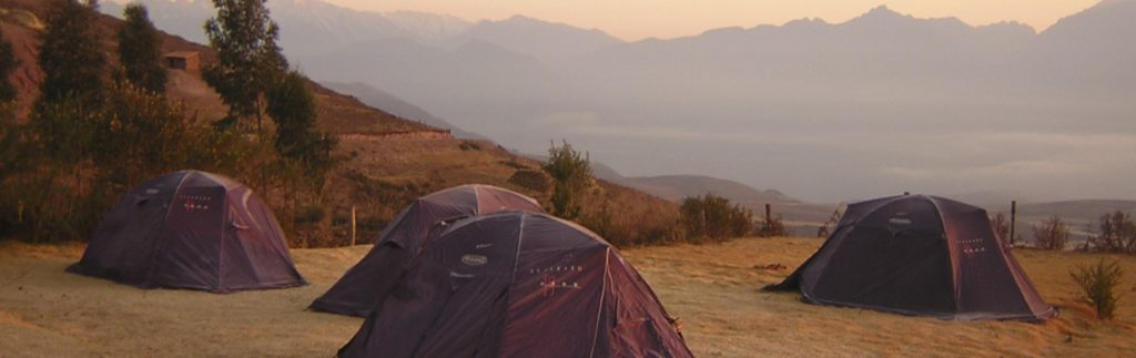 Camping en Moray - Cusco